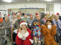 クリスマス会の様子1