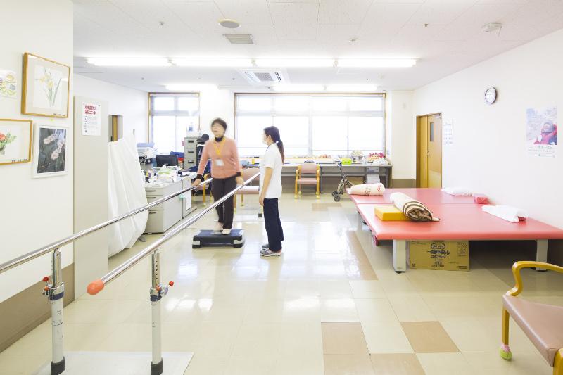 リハビリテーションルーム(通所者用)