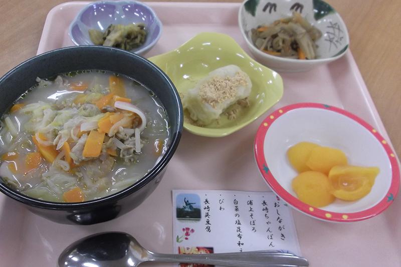 長崎県の郷土食「ちゃんぽん」