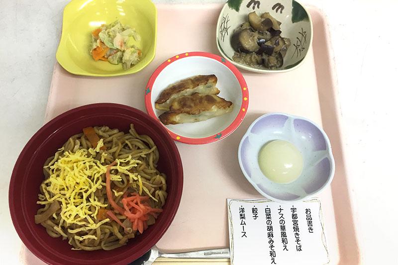 栃木県の郷土食「宇都宮やきそば」